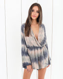 Lagoon Tie Dye Romper - FINAL SALE