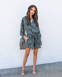Mamba Pocketed Romper