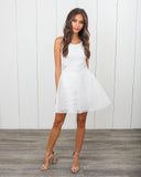 Caught In Love Mesh Dress