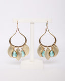 MEGHAN BO DESIGNS - Gypsy Earrings - Turquoise