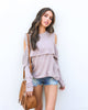 Eloise Cold Shoulder Knit