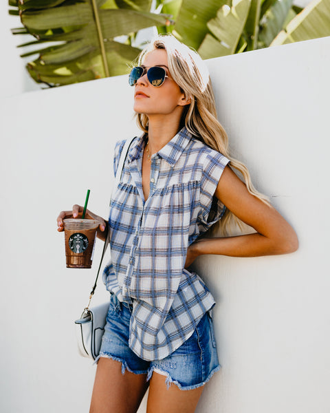 Casual Chic Plaid Top