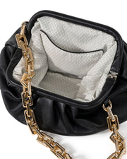 Chic Crossbody Chain Pouch Bag - Black view 5