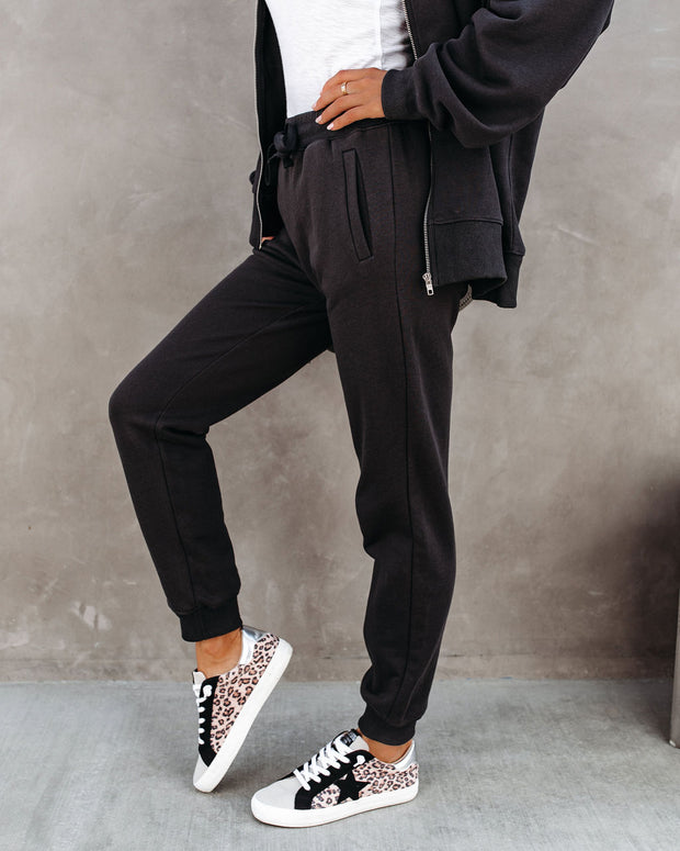 Devon Cotton Pocketed Joggers