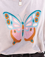Eccentric Butterfly Cotton Tee view 4