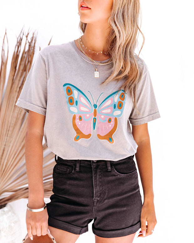 Eccentric Butterfly Cotton Tee view 5