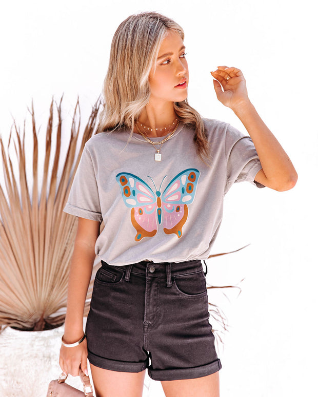 Eccentric Butterfly Cotton Tee view 10