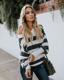 Everlasting Love Striped Knit Top
