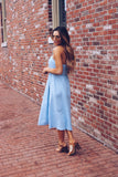 Kaya Button Down Chambray Dress