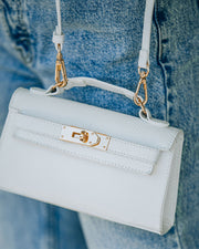 Priana Mini Crossbody Handbag - White view 4