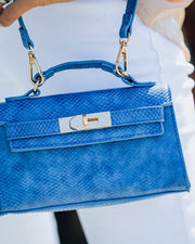 Priana Mini Crossbody Handbag - Cobalt view 4