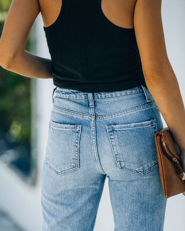 Chime High Rise Distressed Denim view 9