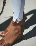 Del Mar Wedge - Cognac