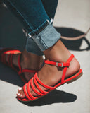 Tutti Frutti Sandals - Coral - FINAL SALE