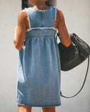 Heartland Babydoll Denim Dress