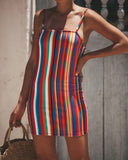 Color Me Pretty Mini Dress - FINAL SALE