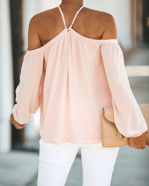 Renley Top - Light Peach