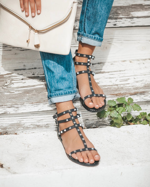 Rock Of Ages Studded Sandal - FINAL SALE