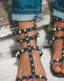 Rock Of Ages Studded Sandal
