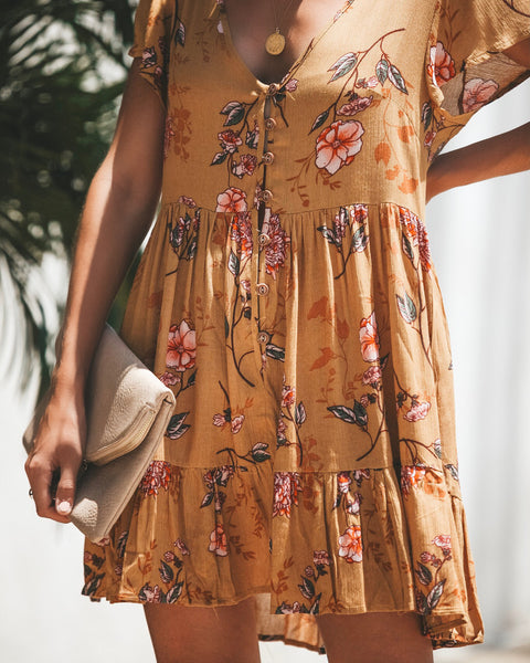 Place In My Heart Button Down Dress