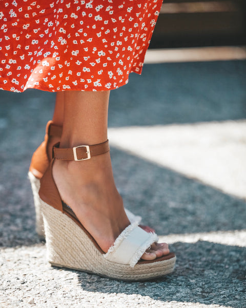 Santa Monica Espadrille Wedge - FINAL SALE