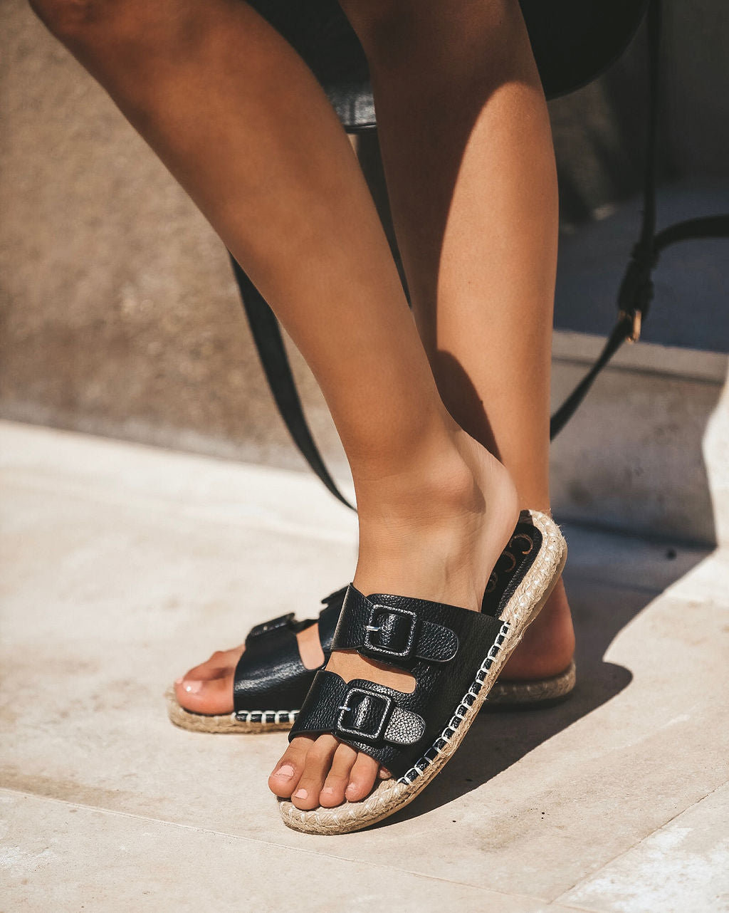 163b87fdfe4b Detail Product. ← Home - SHOES - Free To Roam Espadrille Buckle Sandal -  FINAL SALE