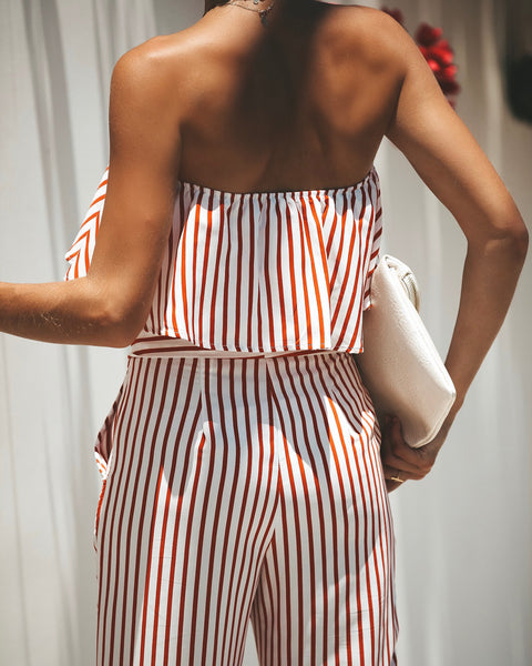Candy Striper Strapless Top - FINAL SALE