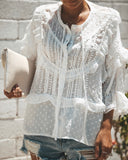 Shakespeare Lace Boho Blouse  - FINAL SALE