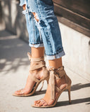 Reserved Wrap Heel