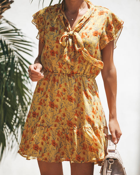 Sunkissed Ruffle Dress - FINAL SALE