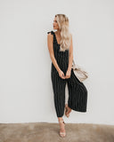 Force Of Fashion Striped Jumpsuit