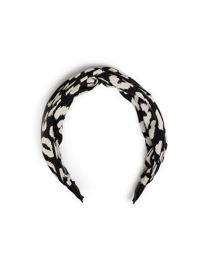 Fierce Leopard Twist Headband