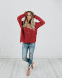 Marley Sweater - Rose