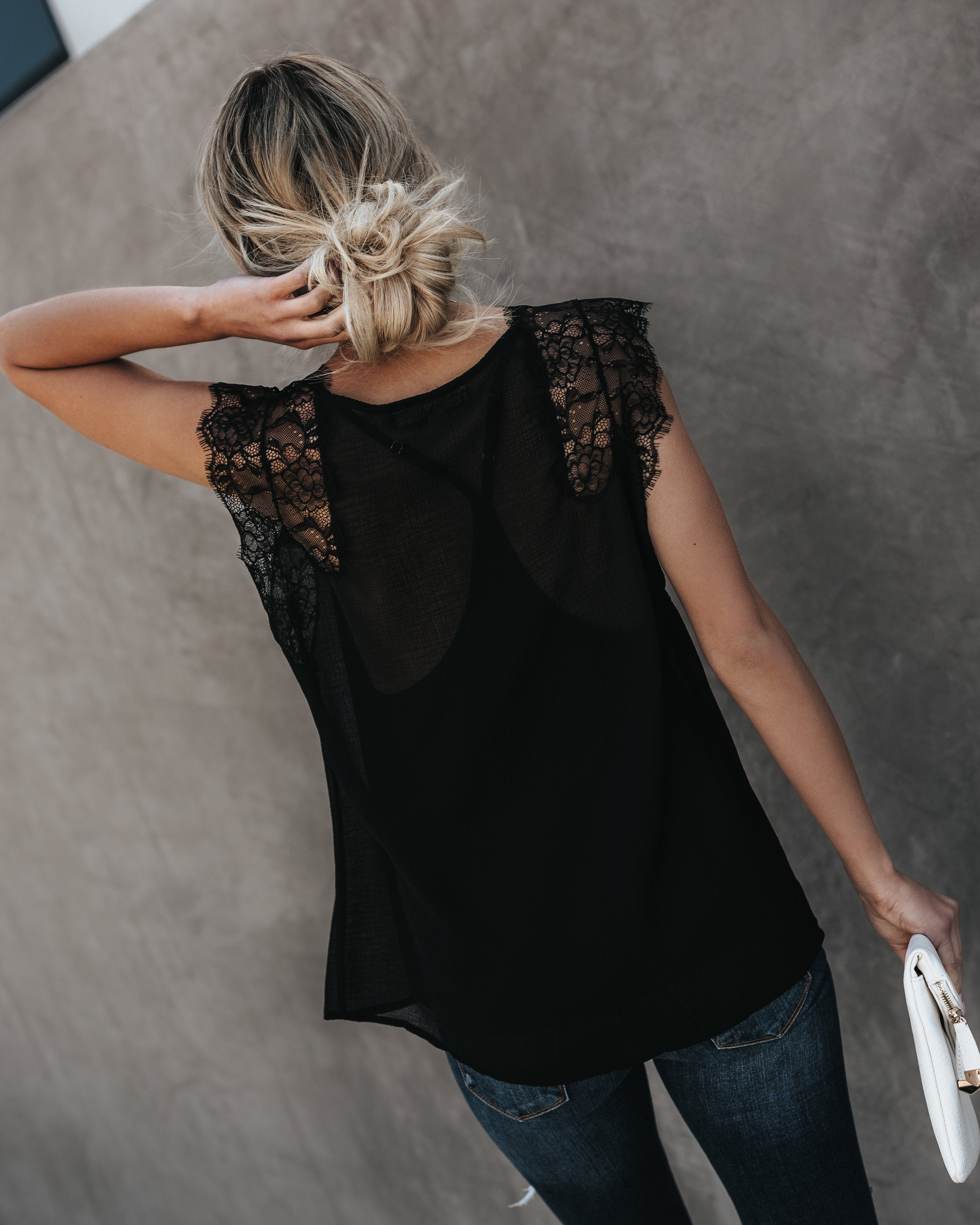 42eb244b2 From A Dream Lace Top - Black – VICI