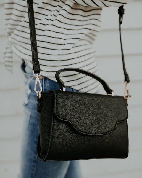 Stella Crossbody Bag - Black