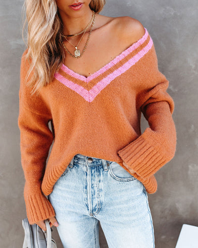 Gilmore Knit Varsity Sweater