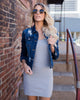 Flaunt Tank Dress - Heather Grey - FINAL SALE