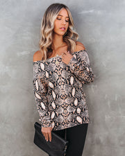 Hiss-Ing Booth Off The Shoulder Sweater - FINAL SALE