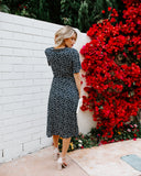 Homestead Floral Wrap Midi Dress - FINAL SALE