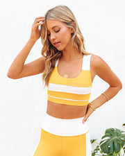 Honey Colorblock Sports Bra