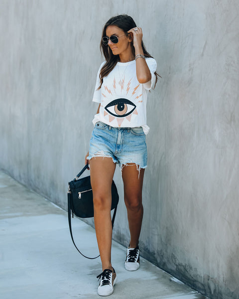 Evil Eye Cotton Tee