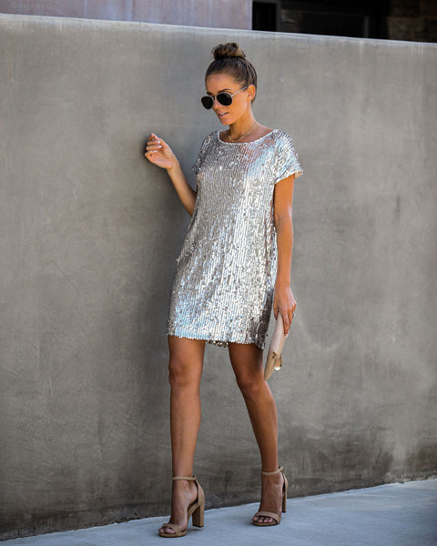 Footloose Sequin Mini Dress - FINAL SALE