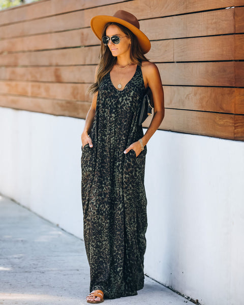 Craze Pocketed Maxi Dress