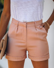 Genuine Style Pocketed Cuffed Shorts - FINAL SALE