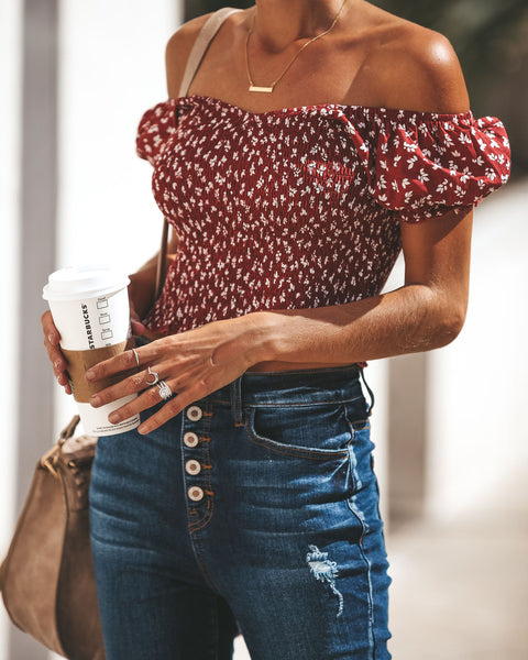 Off The Shoulder Good Habits Top
