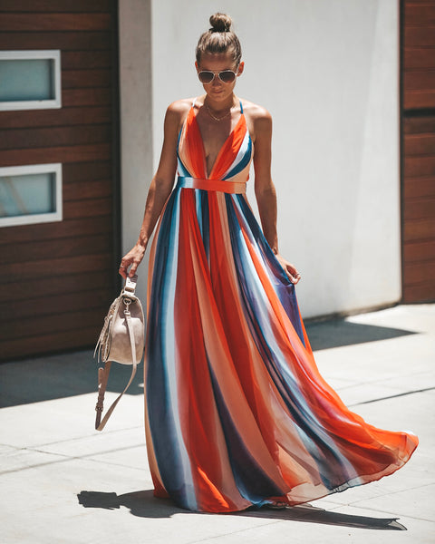 Shades Of Summer Maxi Dress