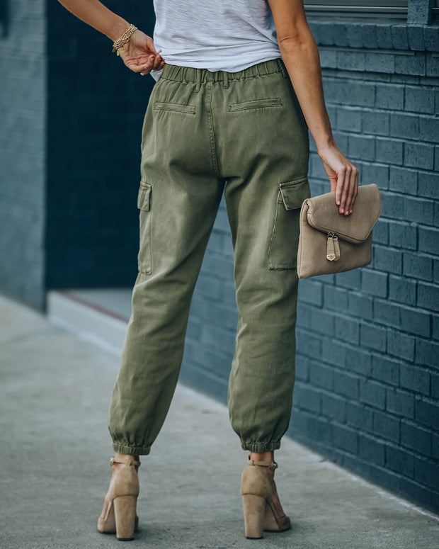 On Target Cotton Pocketed Cargo Joggers