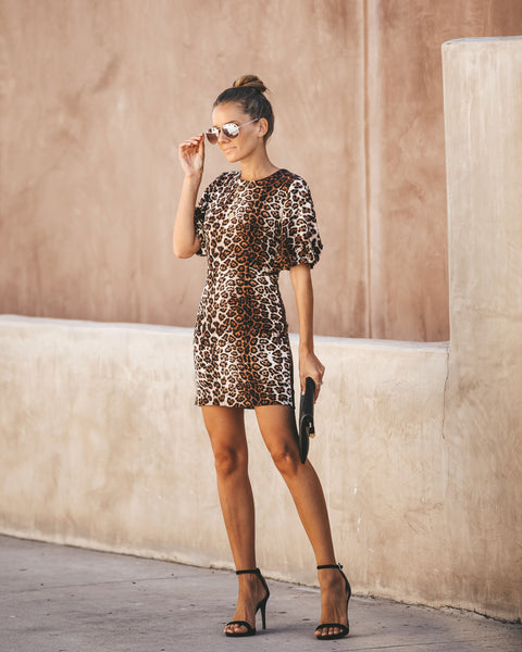 Wild About You Leopard Dress