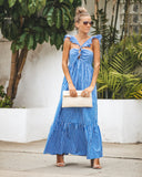 Bayshore Striped Maxi Dress - FINAL SALE