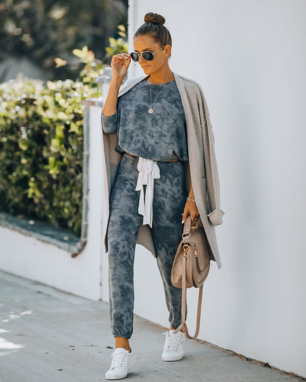 Out And About Tie Dye Knit Joggers